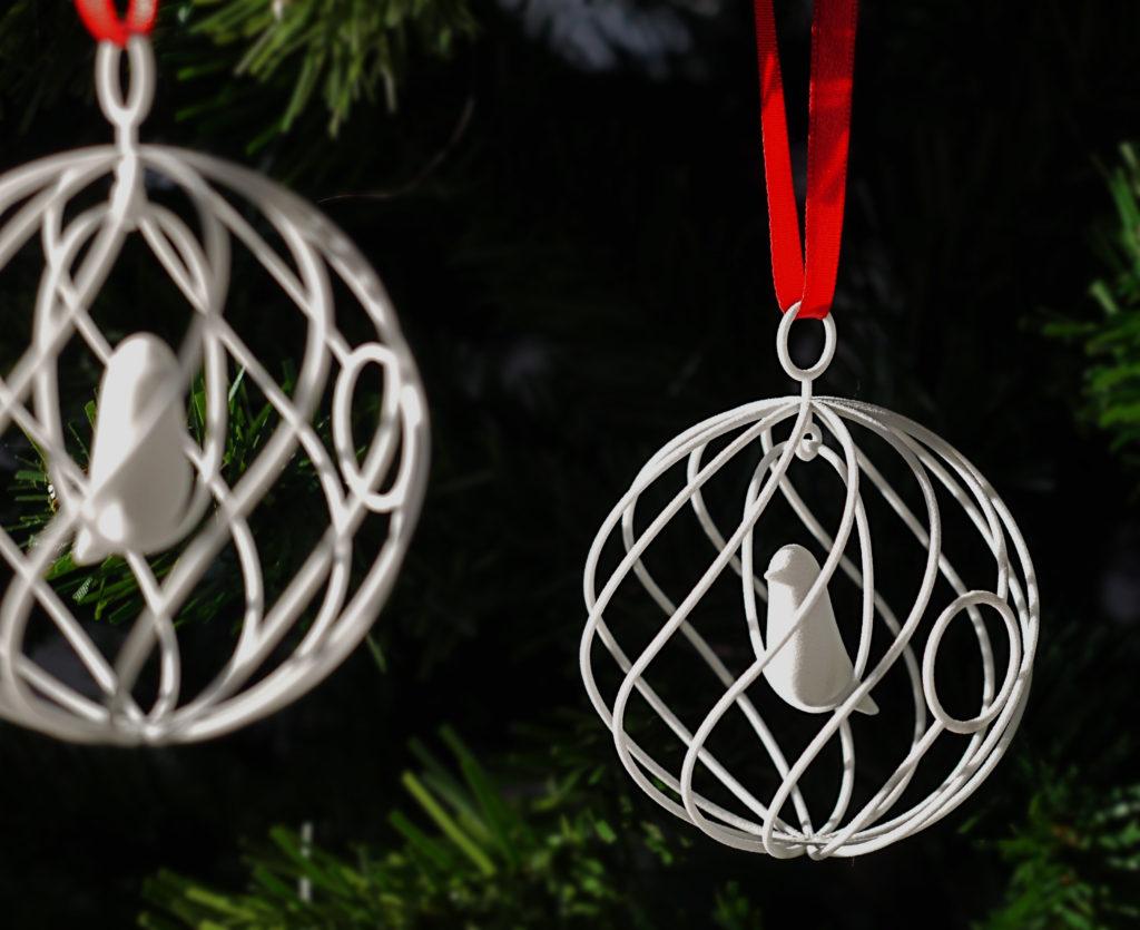 Merry Bird van Personaliseerbare ring van Suuz