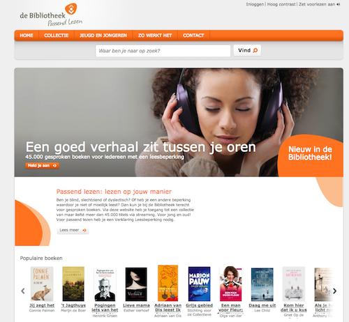 KB lanceert website met gesproken boeken