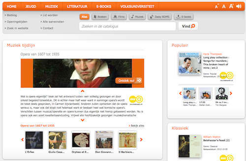 Website bibliotheek Deventer wint award