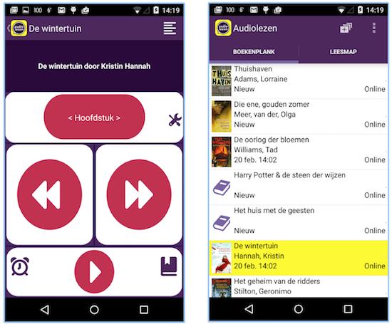 Lancering Audiolezen app